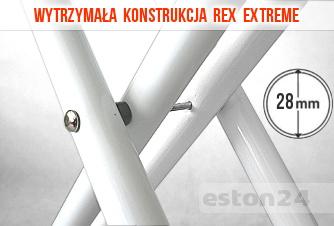 Stabilna konstrukcja deski Rex