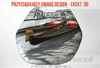 Motyw pokrowca Venecja 3D