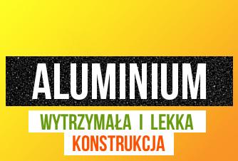 Lekka i aluminiowa drabinka