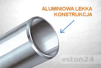 Aluminiowe pręty