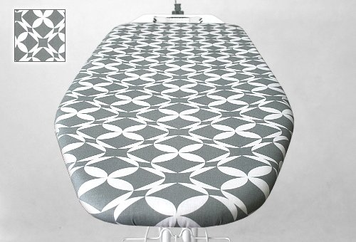 Deska z pokrowcem wzór Grey Morocco